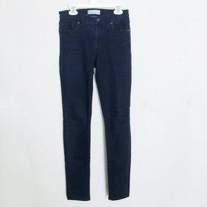 Madewell Skinny Skinny Jeans Full Length Dark Wash